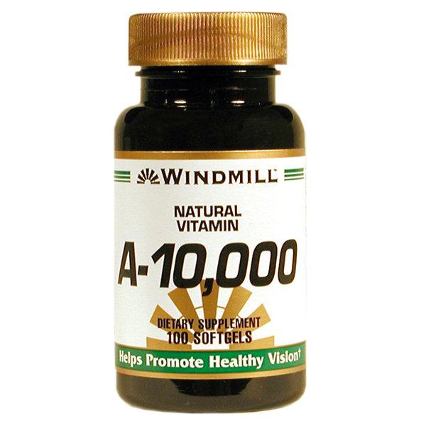 Vitamin A-10,000 IU 100 Softgels