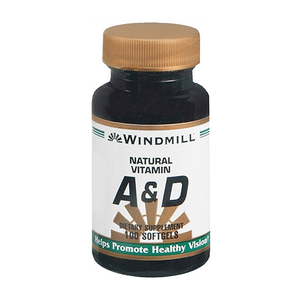 Vitamin A & D 10,000IU/400IU  100 Softgels