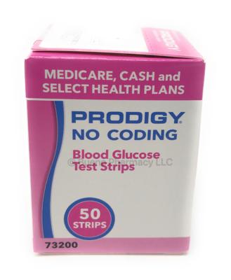 Prodigy Blood Glucose Test Strips