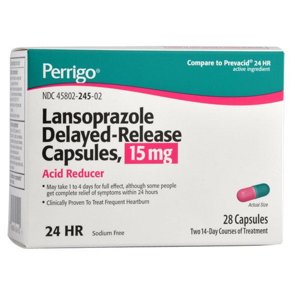 LANSOPRAZOLE DR 15MG 28 CAPSULES