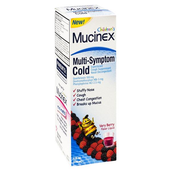 MUCINEX CHILD MULTI- SYMPTOM /NITE TIME