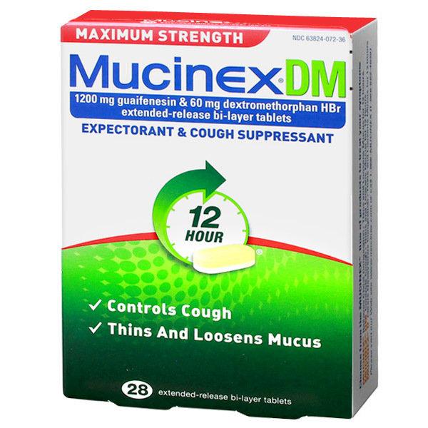 MUCINEX DM MAX STRENGTH
