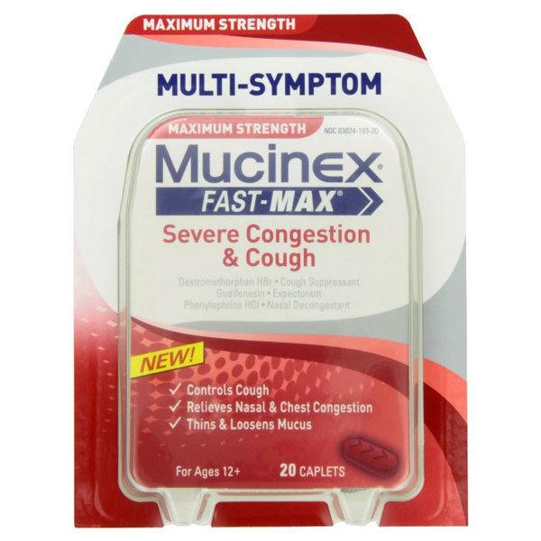 MUCINEX FAST MAX SEVERE COLD
