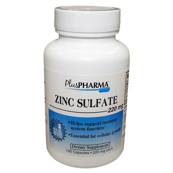 ZINC SULFATE 220MG CAPLETS