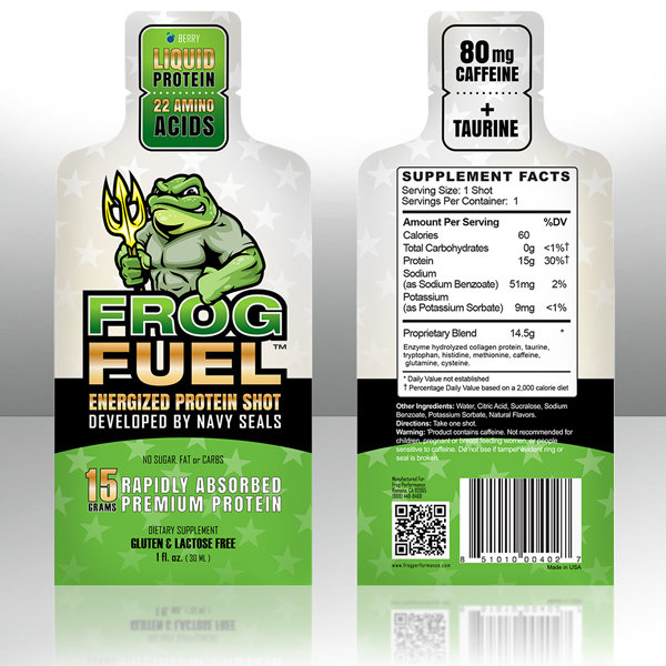 FrogFuel Dietary Supplement Berry