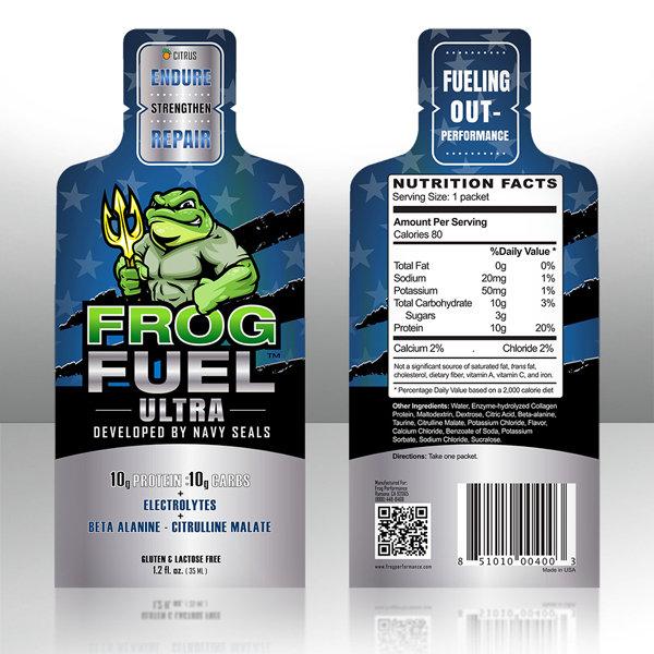 FROGFUEL ULTRA 24CT CITRUS
