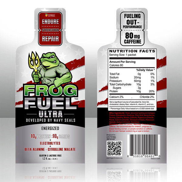 FrogFuel Dietary Supplement Mixed Berry Flavor
