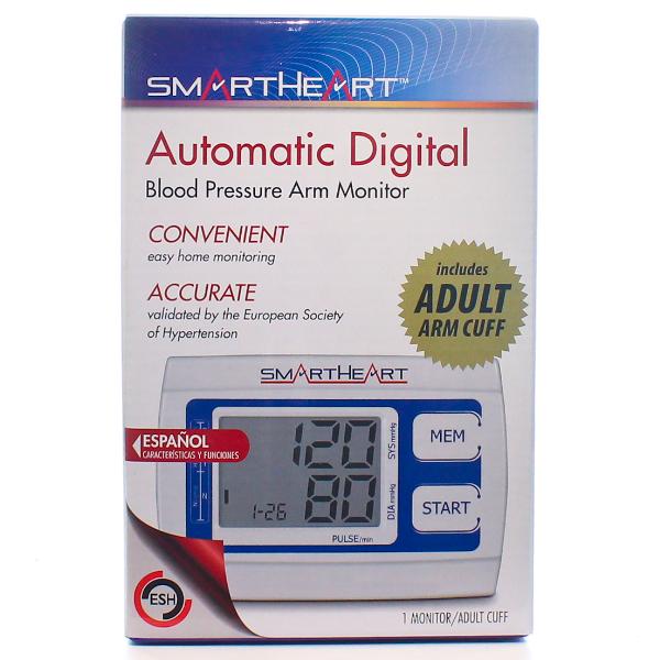 Smart Heart Automatic Digital Blood Pressure Monitor