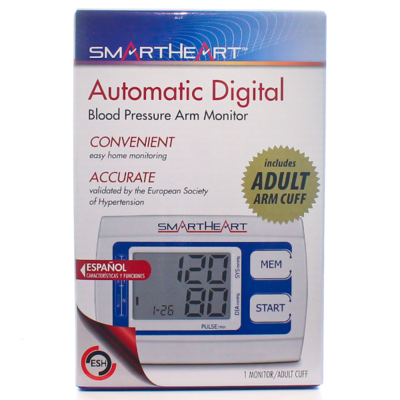 Smart Heart Automatic Digital Blood Pressure Monitor