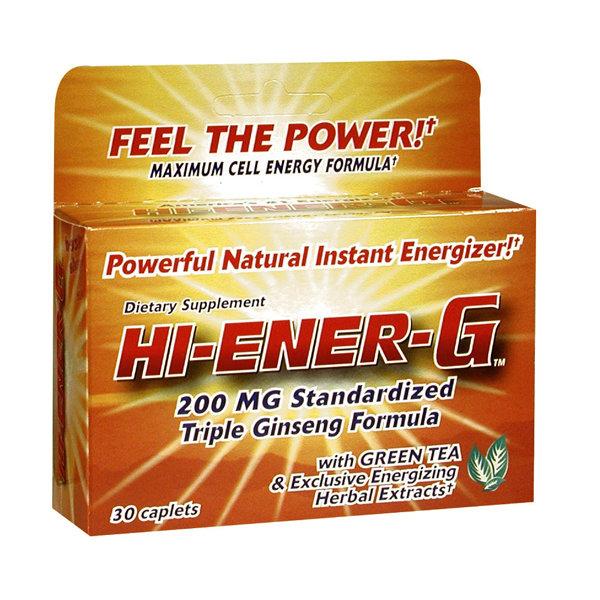 Hi-Ener-G 200 Mg 30 Caplets