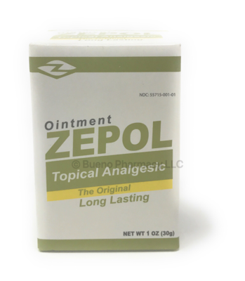 Zepol Original Ointments 1oz
