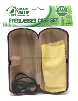 SmartValue EYEGLASS CASE SET 3PCS