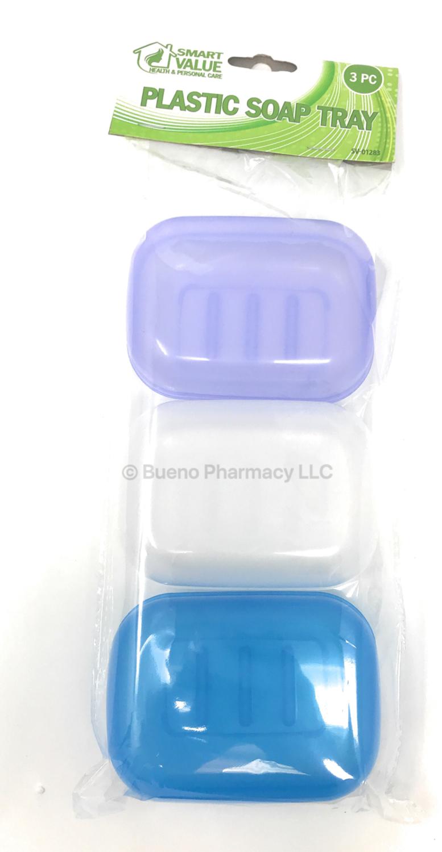 SOAP TRAY HOLDER SMART VALUE 24CT/3PCS