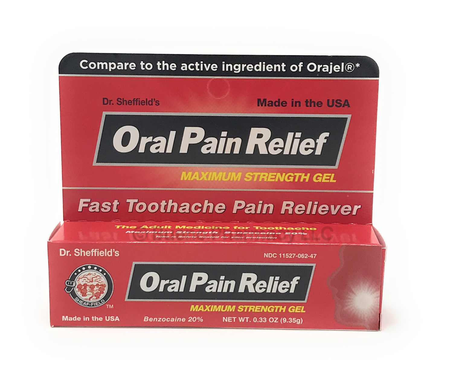 DR Sheffield's ORAL PAIN RELIEF 0.33 OZ