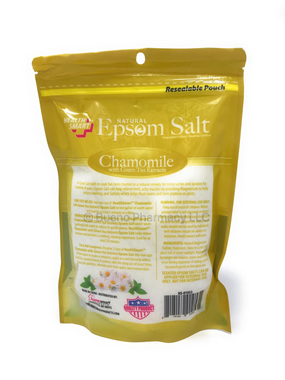 Epsom Salt Green Tea & Chamo H.S. 16OZ