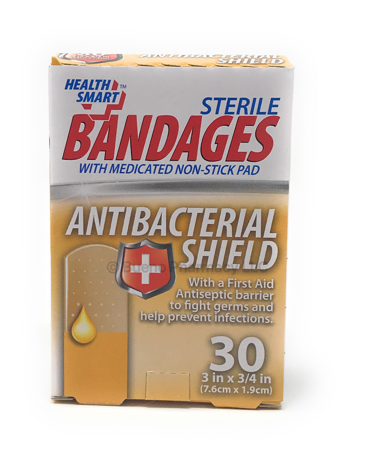 BANDAGES W/ Antibacterial Shield 20