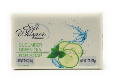 BAR SOAP CUCUMBER GREEN TEA 7 OZ