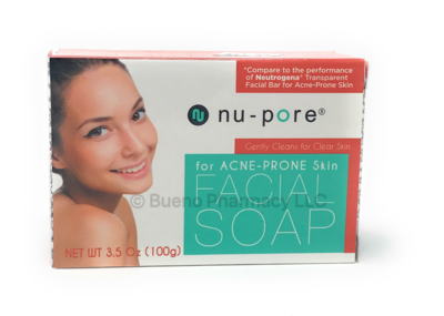 Nu•Pore Facial Soap For Acne Prone Skin