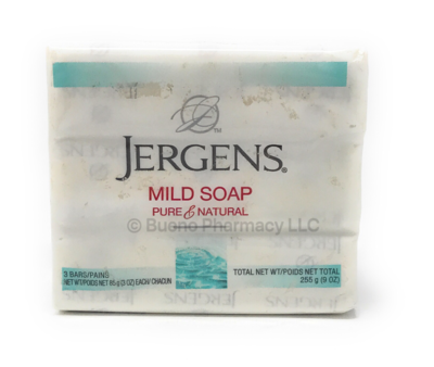 BAR SOAP JERGENS 3PK 3 OZ