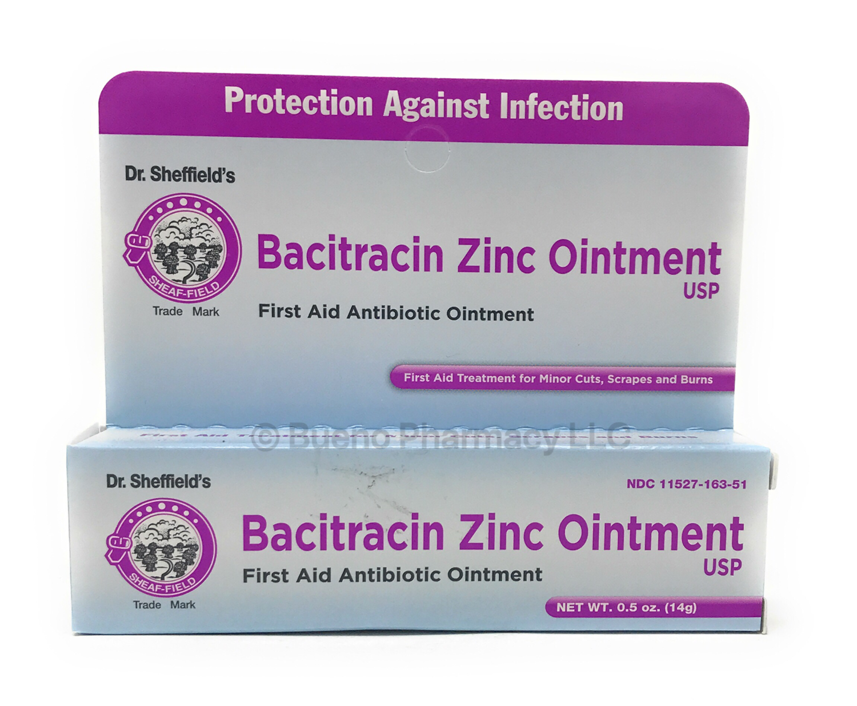 DR. SHEF ZINC BACITRACIN Ointment 0.5OZ