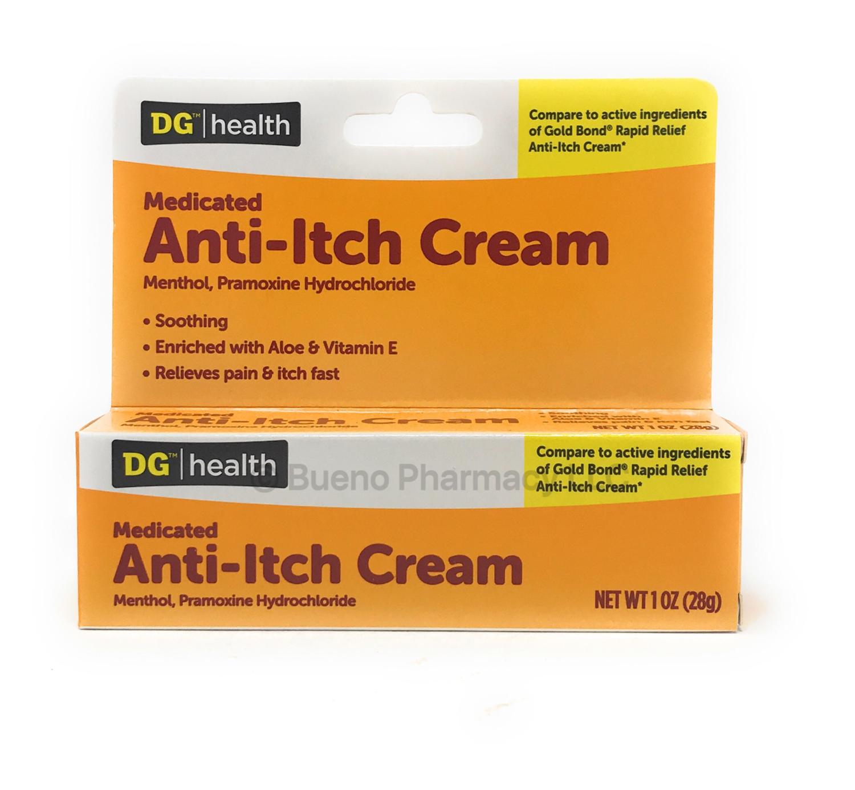 Medicated Anti Itch Cream
