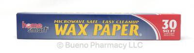 WAX PAPER H.S. 30 SQ FT