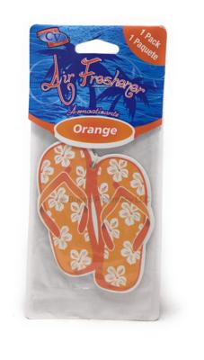 Air Freshener Orange Flip Flops