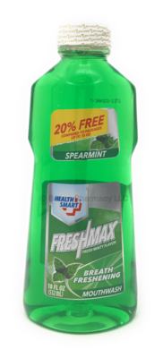 MOUTHWASH FRESHMAX MINT 18 OZ