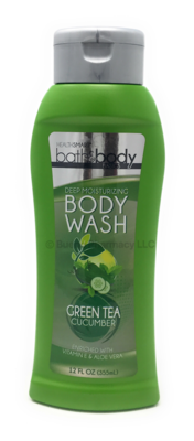 BODY WASH GREEN TEA/CUCUMBER H.S. 12 OZ