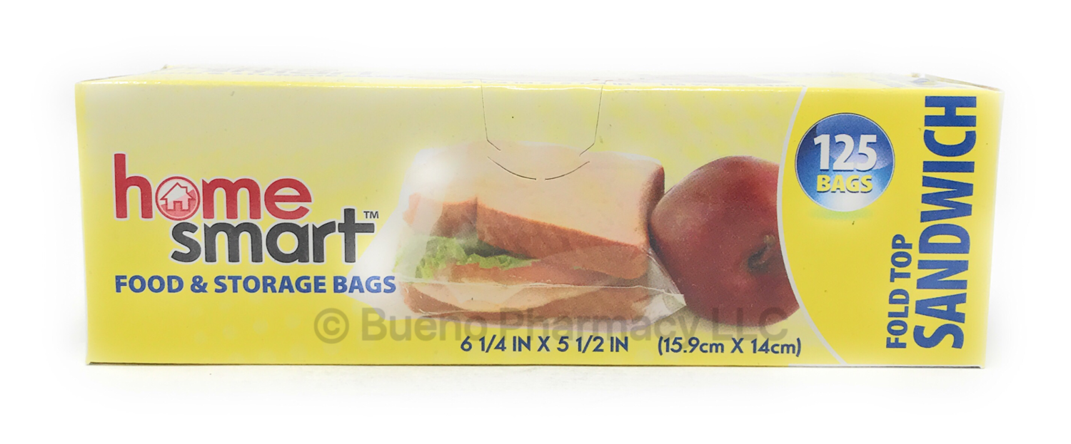 SANDWICH BAG FOLD H.S. 125PCS