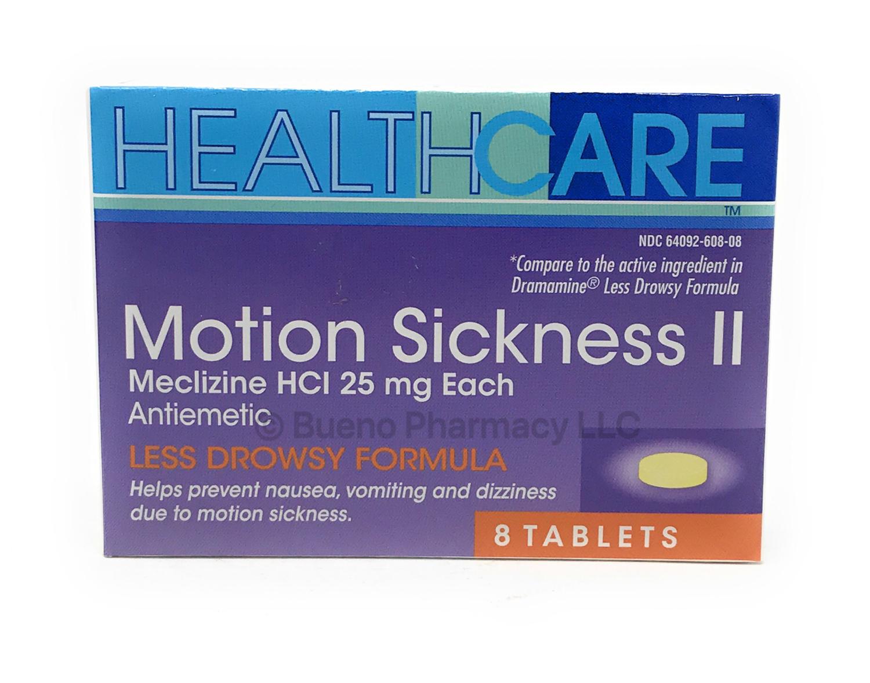 Motion Sickness II  8 Tablets