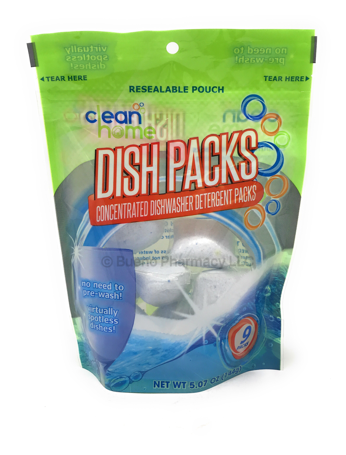 Dish Packs