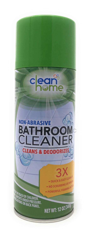CleanHome Foaming Bathroom Cleaner