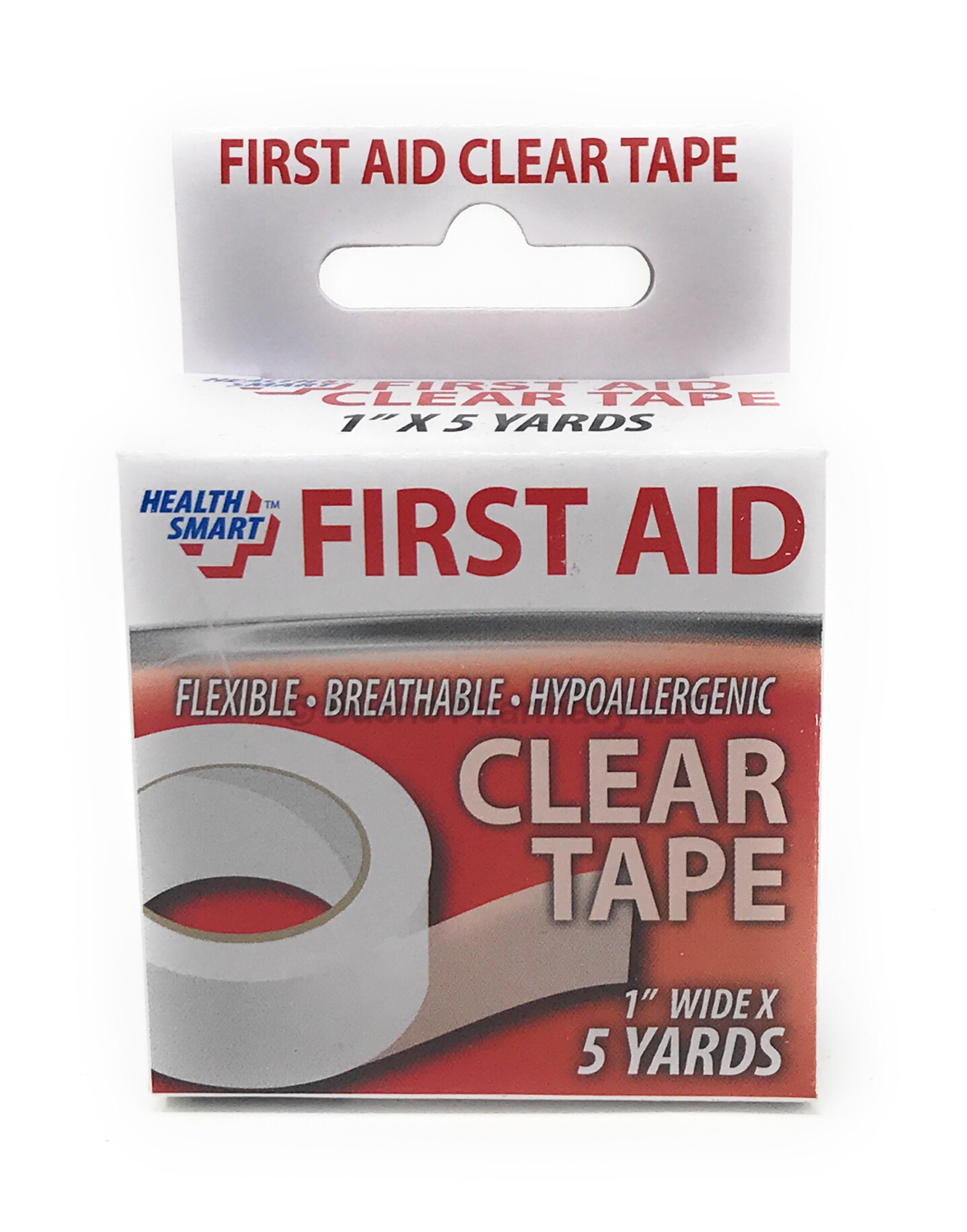 """FIRST AID CLEAR TAPE 1"""" X 5Y 24CT"""