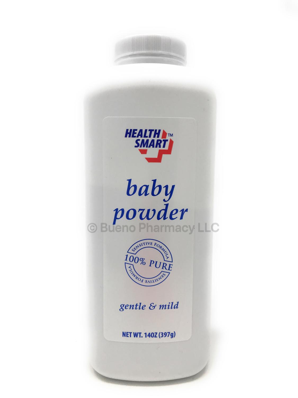 BABY POWDER HEALTH SMART 14 OZ