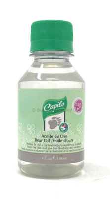 Capilo  Aceite De Oso /Bear Oil 4oz