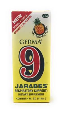 Germa 9 Jarabes 4oz