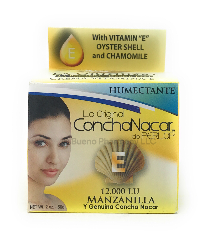 Concha Nácar Manzanilla Humectante 2oz