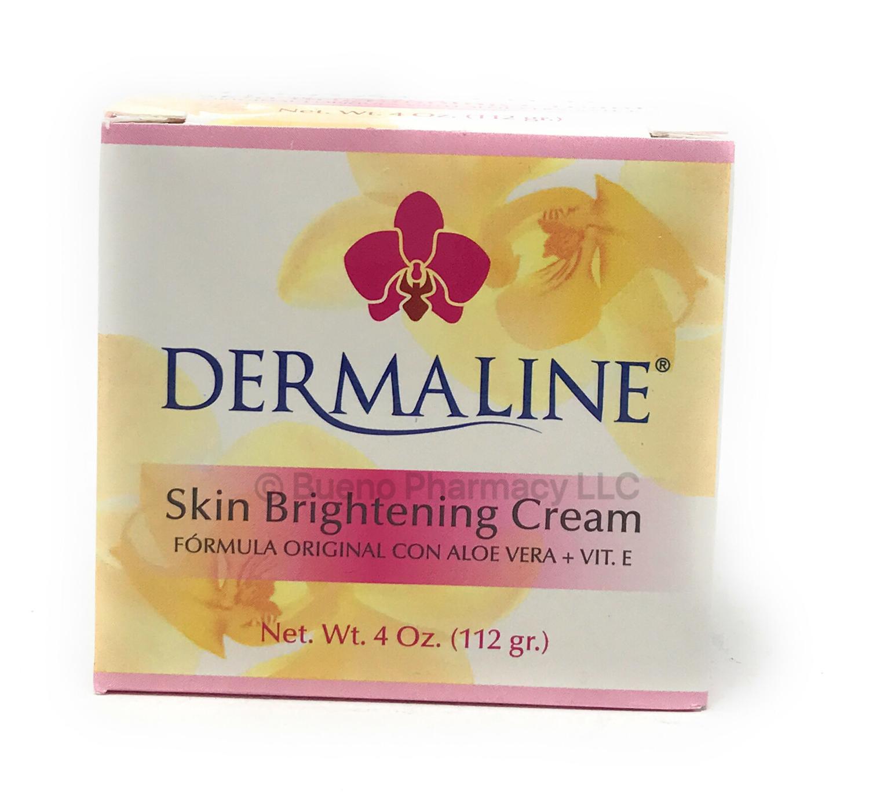 Dermaline Skin Brightening Cream 4oz