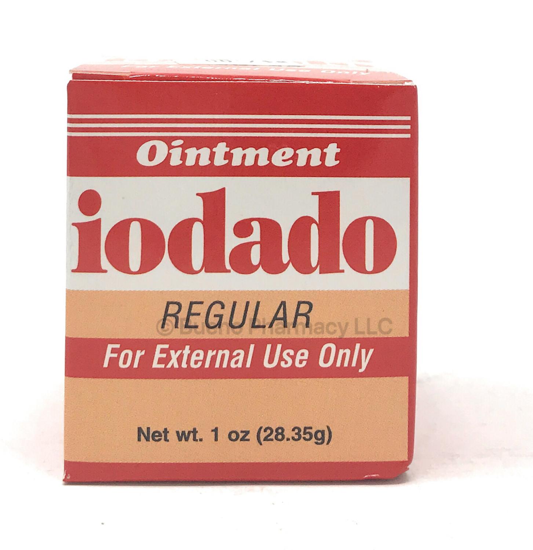 Iodado Ointment Regular 1oz