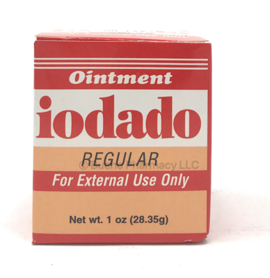 Iodado Ointment Regular 1oz