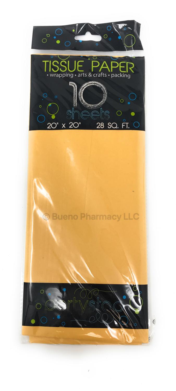 Tissue Paper Hot Yellow