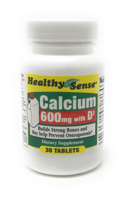 Calcium 600 mg With D3 200 IU 30 Tabs