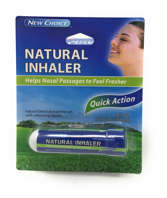 NASAL INHALER 1 PC NEW CHOICE .0176 OZ (500 mg)