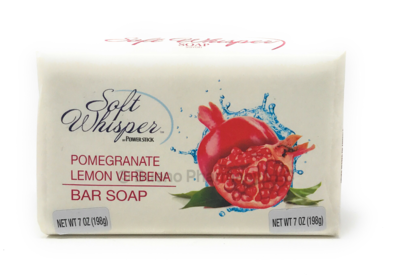 BAR SOAP POMEGRANATE VERBAN 7 OZ