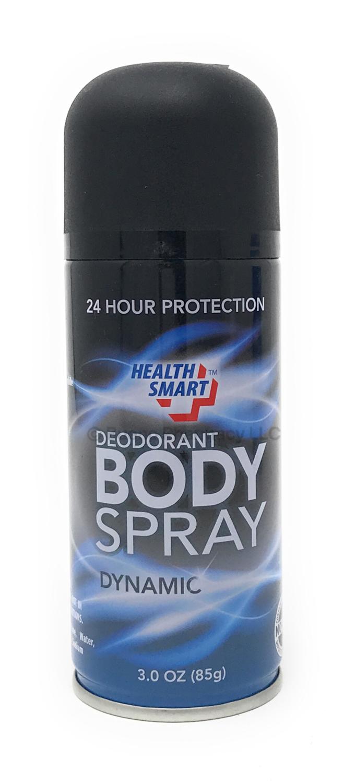 24 Hour Protection BODY SPRAY Deodorant DYNAMIC 3 OZ