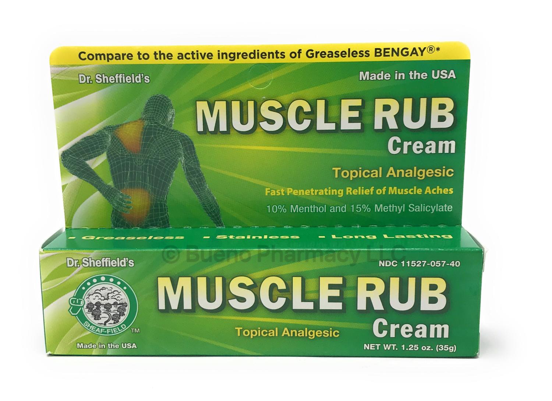 Muscle Rub Cream