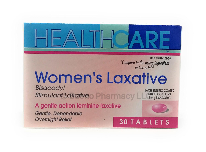 Women's Laxative Bisacodyl Stimulant Laxative