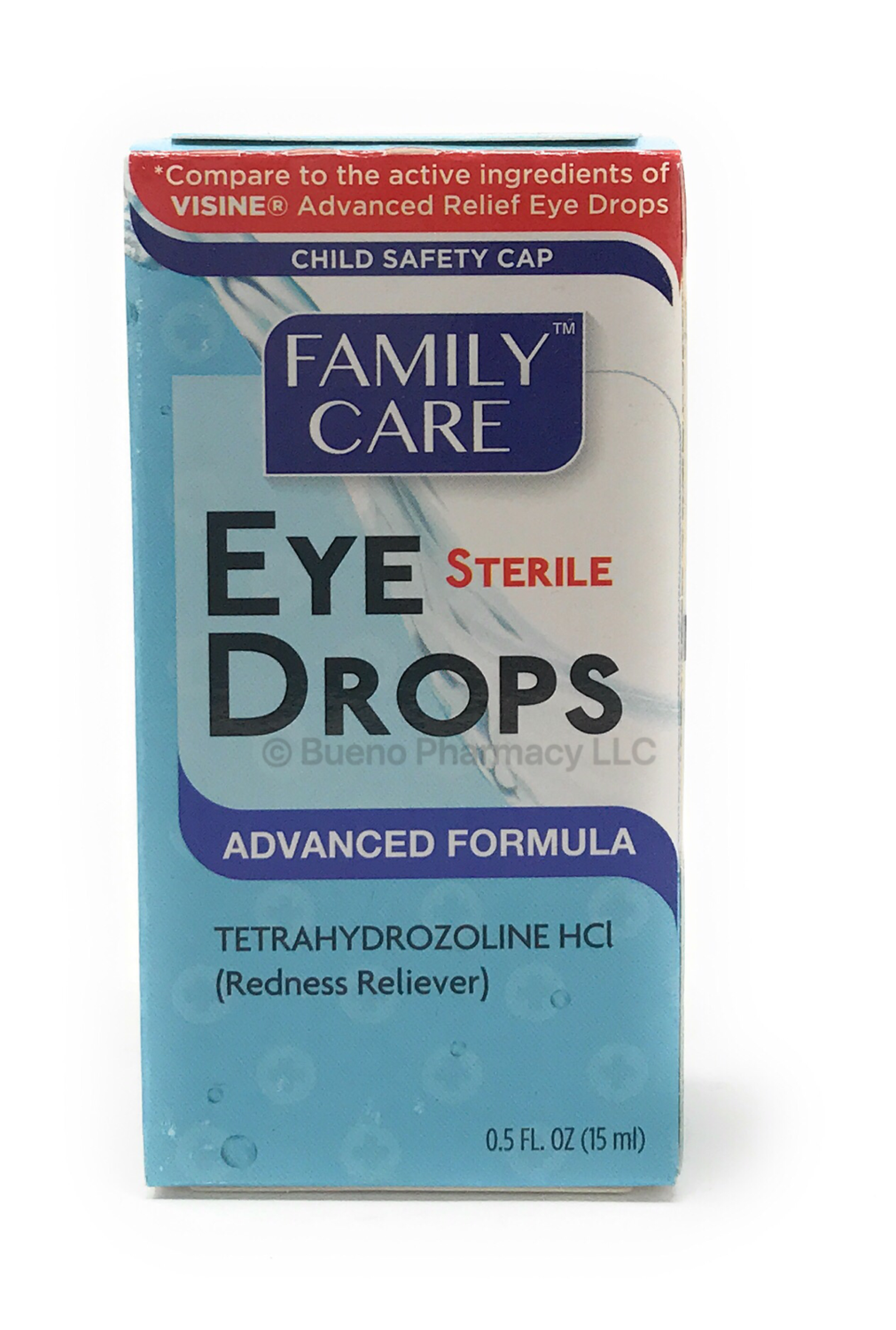 EYE DROPS ADVANCED FORMULA 0.5 OZ