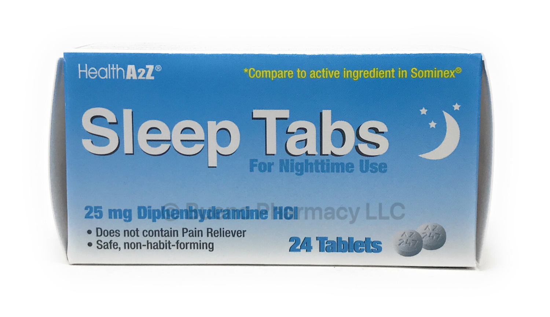 Sleep Tablets A&Z (24 Tablets)